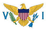 The flag for the U.S. Virgin Islands